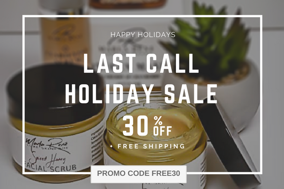 30% OFF + FREE SHIPPING HOLIDAY SALE